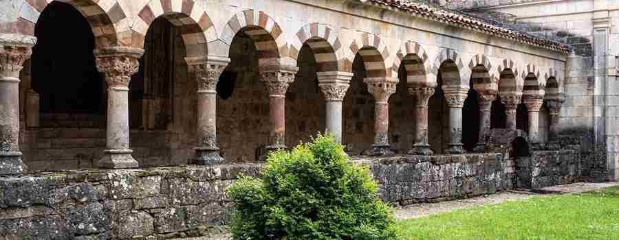 Cardeña, románico borgoñón en Castilla
