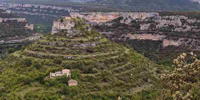 Castrosiero, entre el Rudrón y el Ebro