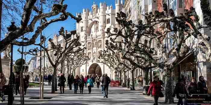 El Espolón, para sentirse burgalés en Burgos