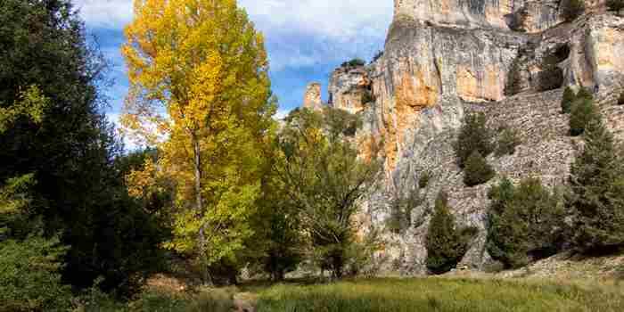 Cañón del río Lobos, el primer espacio protegido de Burgos