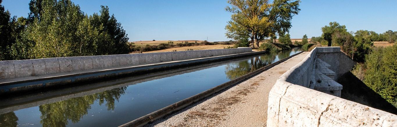 Abánades, el acueducto de Burgos