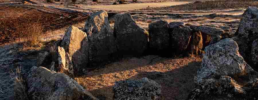 Solsticio en el dolmen de Cubillejo/Mazariegos