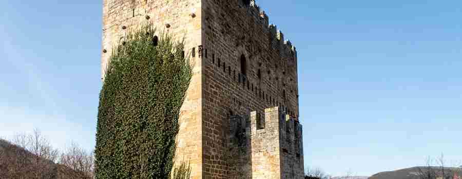 Castillo de los Velasco, en Espinosa de los Monteros