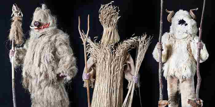 Mascaradas de Mecerreyes, una fiesta muy europea