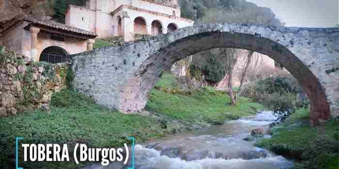 Tobera, el pueblo de las cascadas