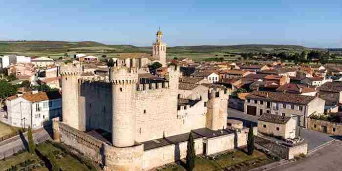 Olmillos de Sasamón, el castillo de los judíos
