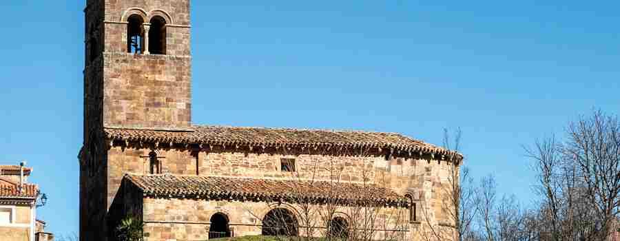 Vizcaínos y su reveladora iglesia románica