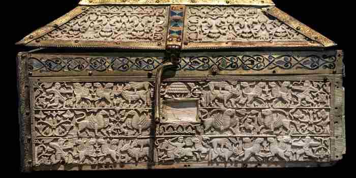 Arqueta de Silos, fusión entre los artes califal y románico