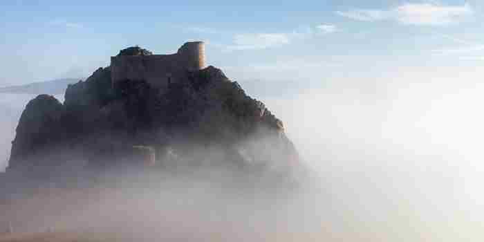 Castillo de Poza, el vigilante de la sal
