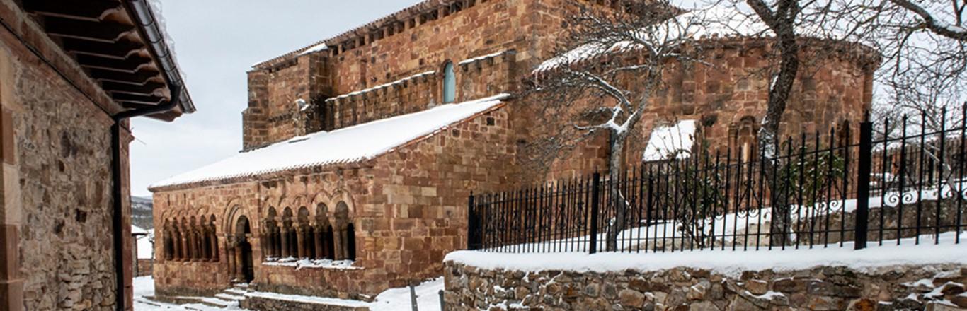 Pineda de la Sierra, románico de invierno